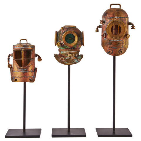Pendulux Diver Helmets Replica (Set of 3)