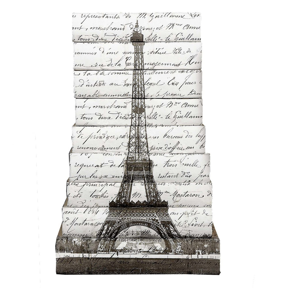 Eiffel Tower Decorative Books | E.Lawrence Ltd | Trovati Studio