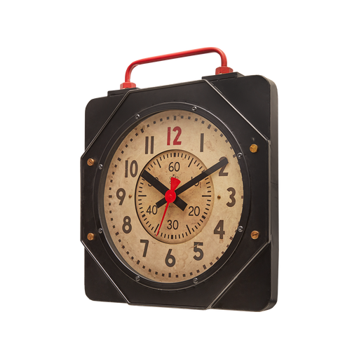Engine Room Wall Clock - Trovati