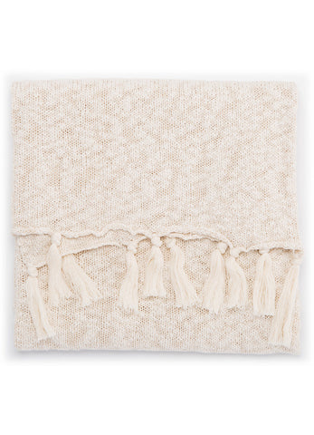 Jaipur Gem Throw - Angora