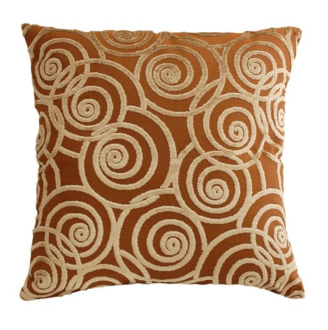 Trovati Velvet Swing Decorative Pillow- Bronze