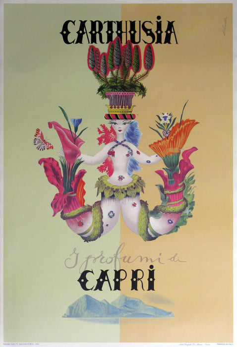 Carthusia Authentic Vintage Poster by Labocceta - Trovati