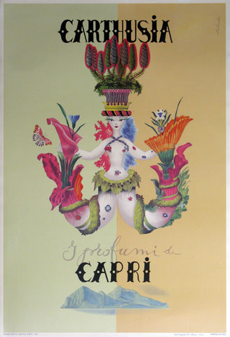 Carthusia Authentic Vintage Poster by Labocceta