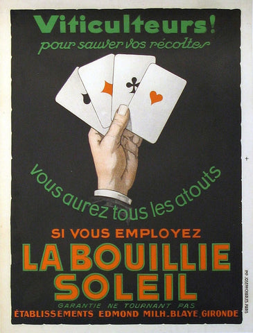 La Bouillie Soleil Authentic Vintage Poster by Anonymous
