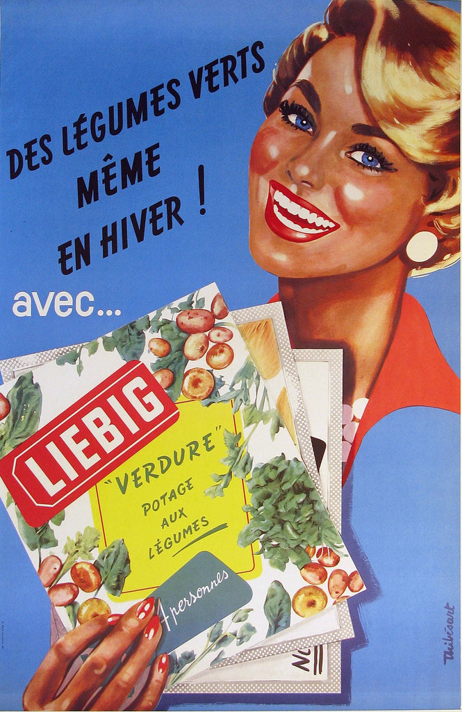 Liebig Authentic Vintage Poster by Thibesant