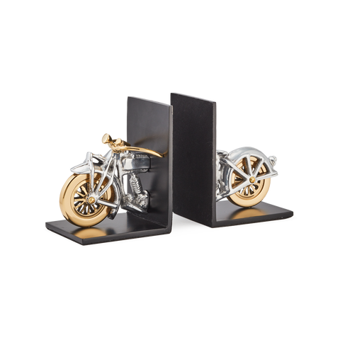Pendulux Motorcycle Bookends