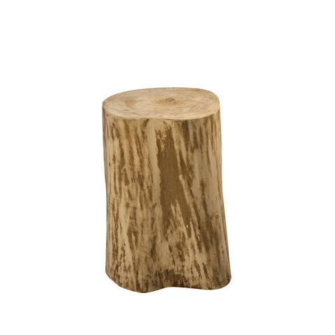 Padma's Plantation Natural Tree Stump Side Table - 17""