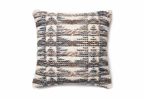 Loloi Elevation Accent Pillow - Cream/Brown/Granite