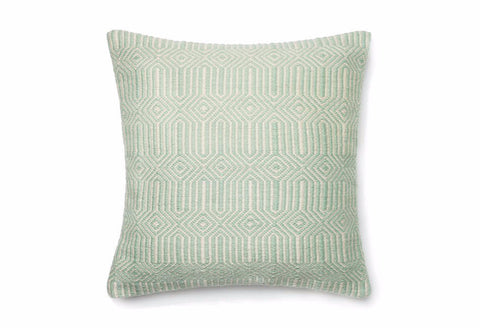 Loloi Equilibrium Indoor Outdoor Pillow - Aqua
