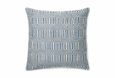 Loloi Equilibrium Indoor Outdoor Pillow - Blue