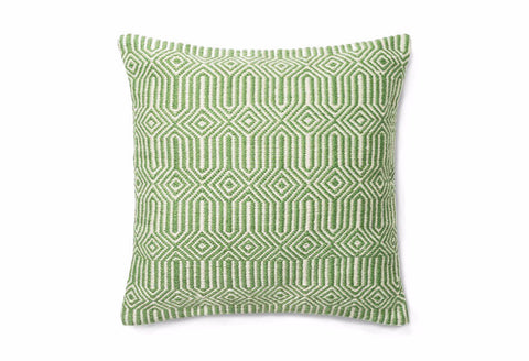 Loloi Equilibrium Indoor Outdoor Pillow - Green