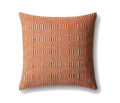 Loloi Equilibrium Indoor Outdoor Pillow - Orange