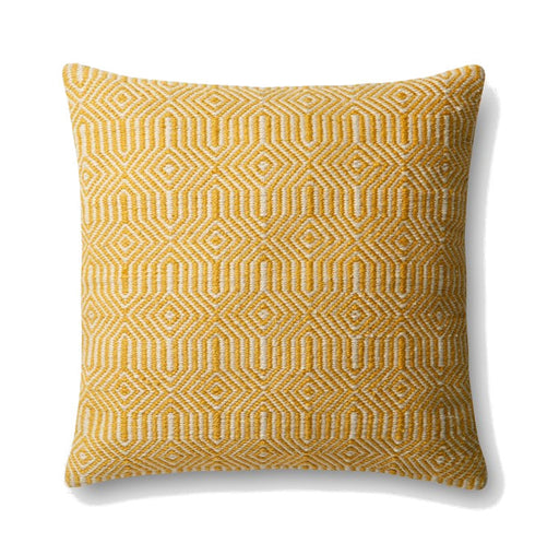 Loloi Equilibrium Indoor Outdoor Pillow - Yellow - Trovati