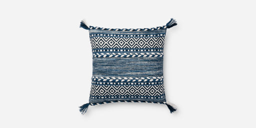 Loloi P0694 Pillow - Indigo Blue