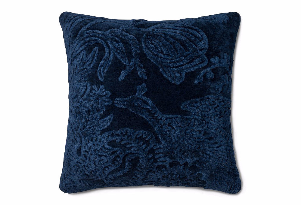 Loloi Flight Viscose Accent Pillow - Indigo