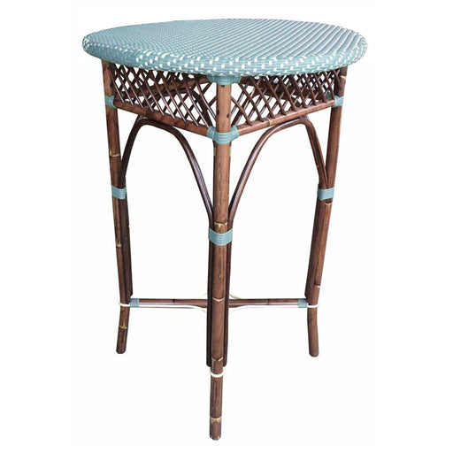 Padma's Plantation Paris Bistro Bar Table - Blue - Trovati