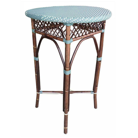 Padma's Plantation Paris Bistro Bar Table - Blue