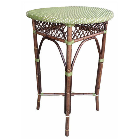 Padma's Plantation Paris Bistro Bar Table - Green