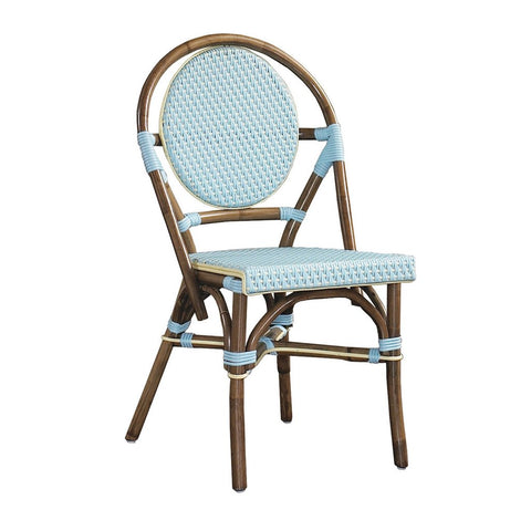 Padma's Plantation Paris Bistro Chair - Blue S/2