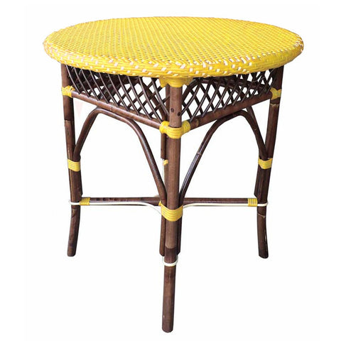 Padma's Plantation Paris Bistro Dining Table - Yellow