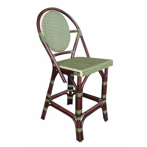 Padma's Plantation Paris Bistro Counter Stool - Green - Trovati