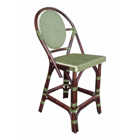 Padma's Plantation Paris Bistro Counter Stool - Green