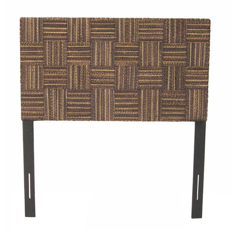 Padma's Plantation Plaid Low Headboard - Twin