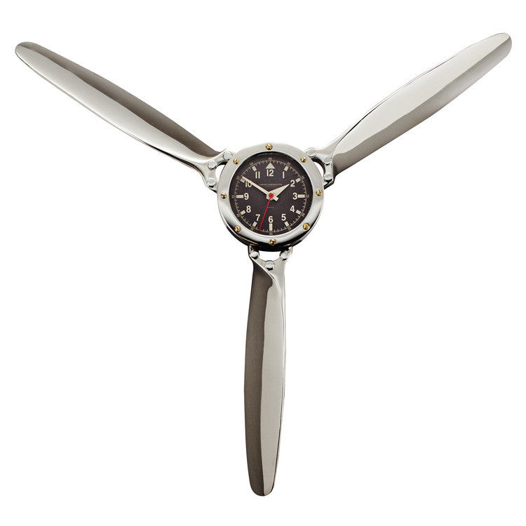 Pendulux Vintage Reproduction Propeller Wall Clock  - 1