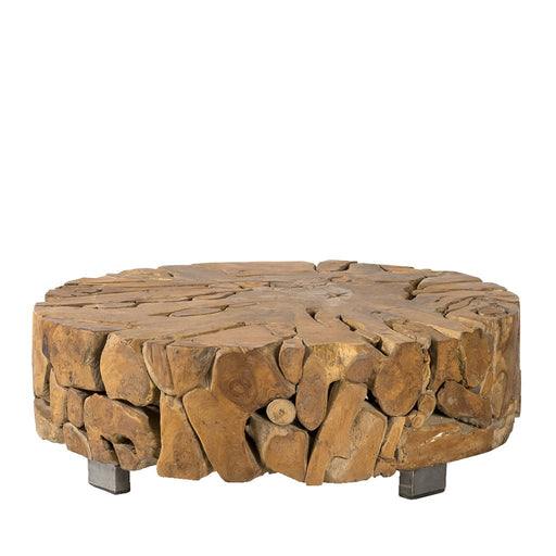 Padma's Plantation Teak Root Coffee Table - Trovati