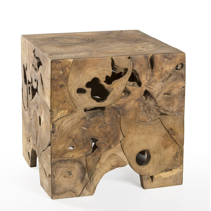 Padma's Plantation Teak Root End Table - Trovati