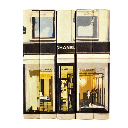 Chanel Storefront Decorative Books | E.Lawrence