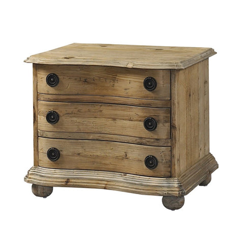 Padma's Plantation Salvaged End Table with Drawers