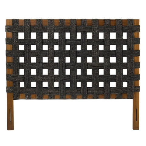 Padma's Plantation Seagrass Open Weave Headboard - King