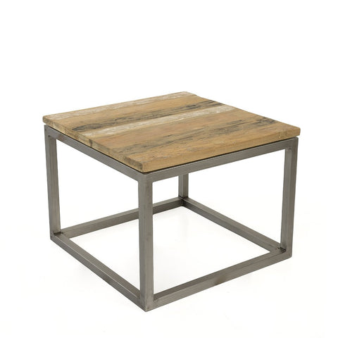 Padma's Plantation Salamanca Recycled Teak End Table