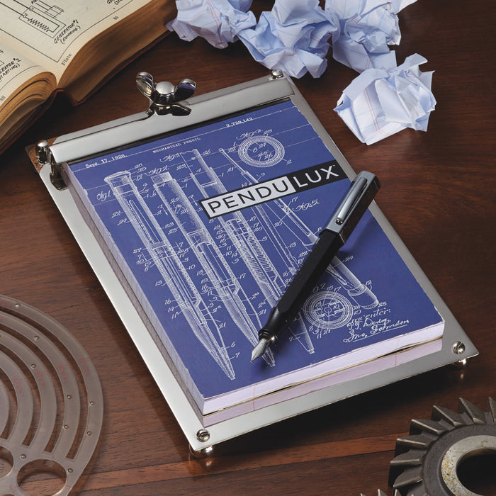 Pendulux Scribner Notepad Nickel Large - Trovati