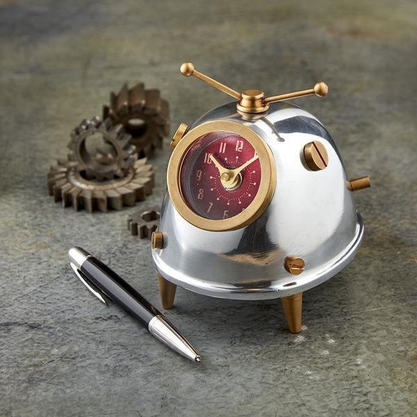 Space Bug Table Clock