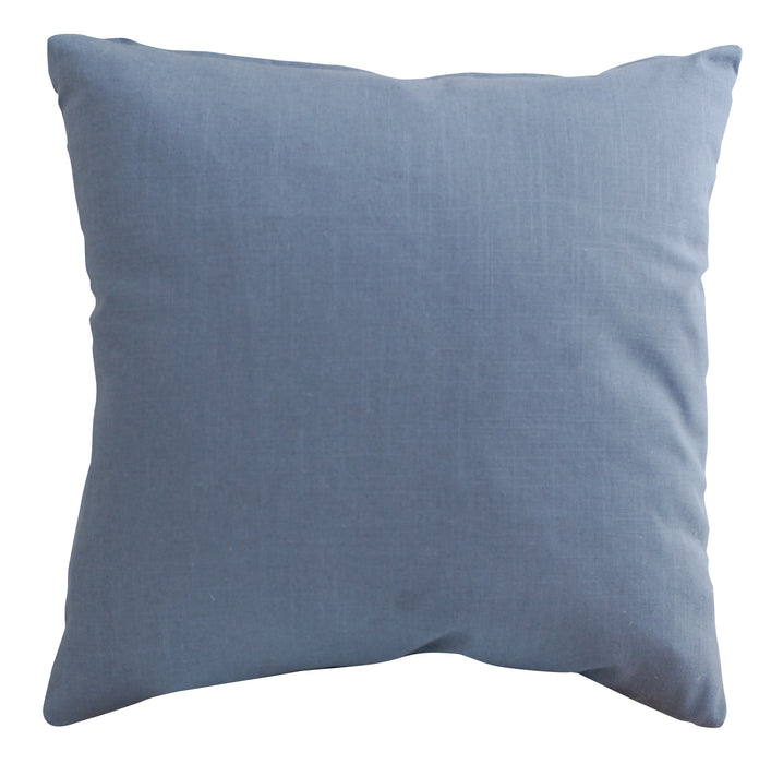 Trovati Decorative Pillow - Velvet Chevron Ink Swing Blue  - 3