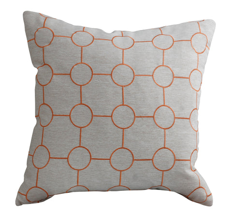 Trovati Sunset Silver Decorative Pillow