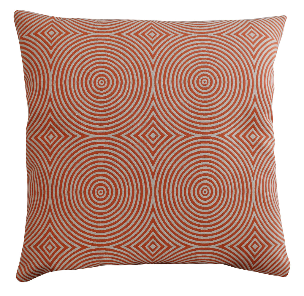 Trovati Decorative Pillow - Chevron Orange  - 1