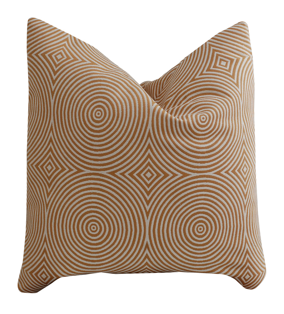 Trovati Decorative Pillow - Chevron Umber  - 2