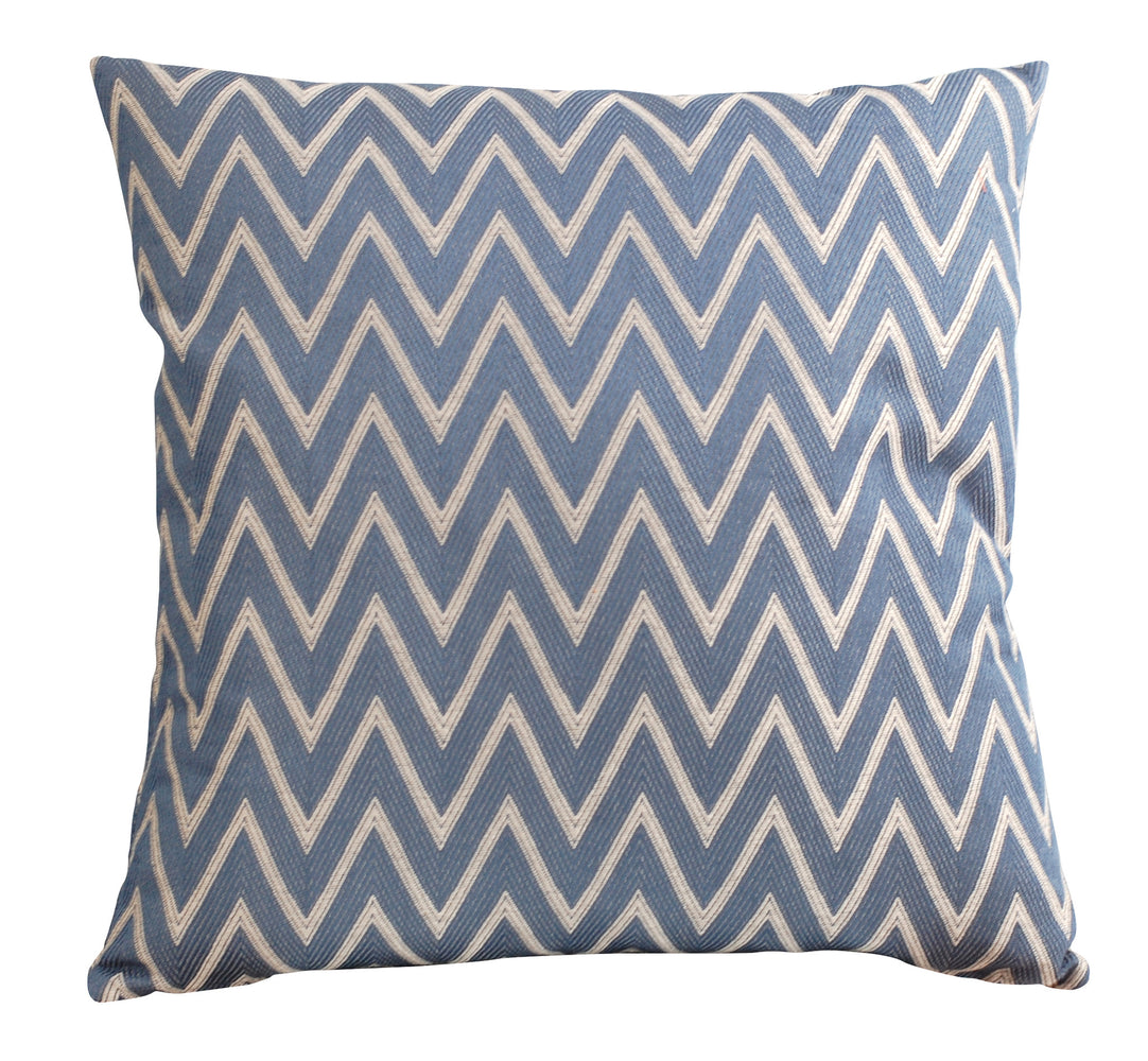 Trovati Decorative Pillow - Trend Chevron Navy  - 1