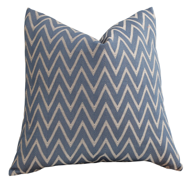 Trovati Decorative Pillow - Trend Chevron Navy  - 2