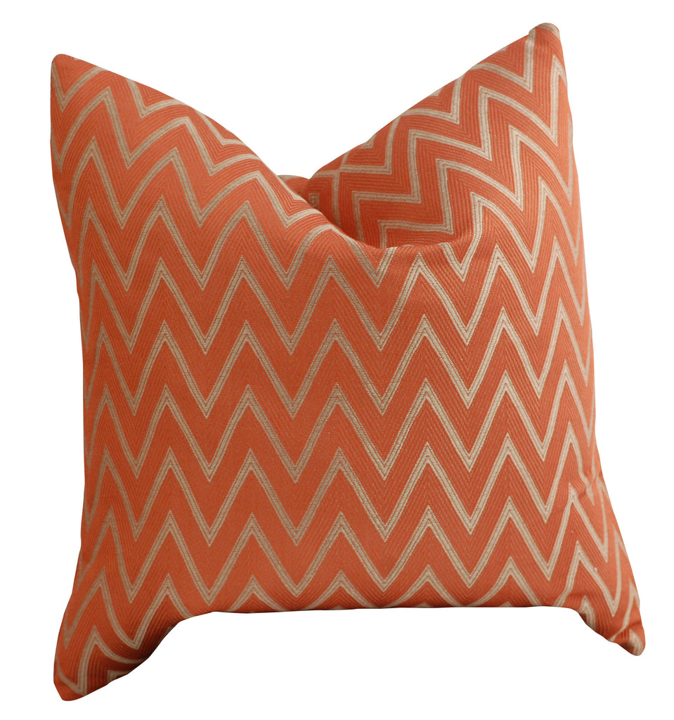 Trovati Decorative Pillow - Trend Spice Chevron Orange  - 2