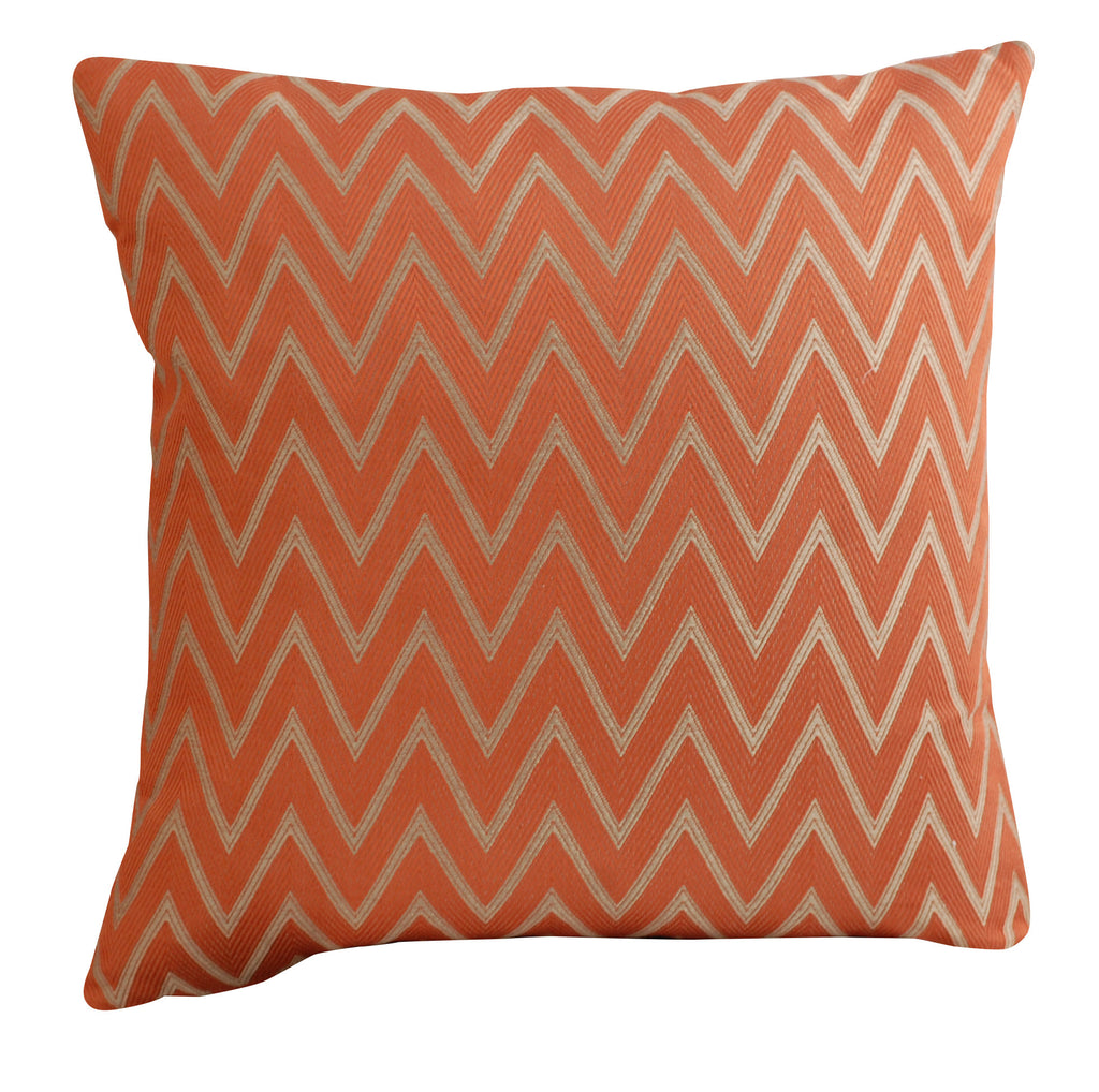 Trovati Decorative Pillow - Trend Spice Chevron Orange  - 1
