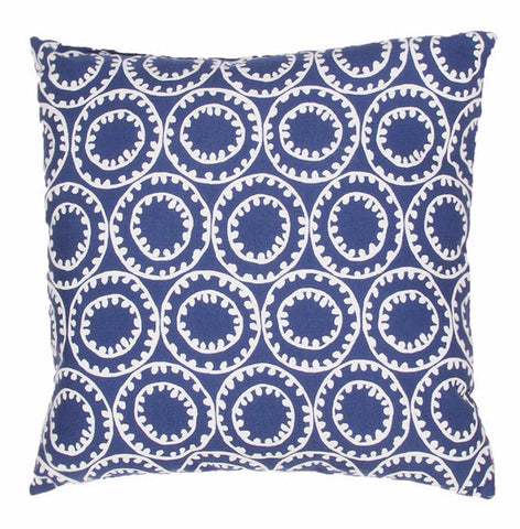 Jaipur Ring A Bell Outdoor Pillow- Twilight