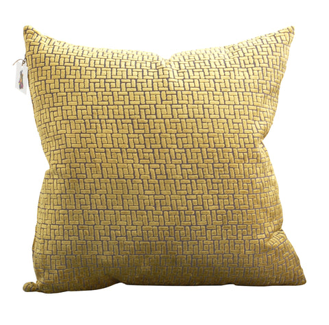 Trovati Velvet Bari Decorative Pillow- Palm Green