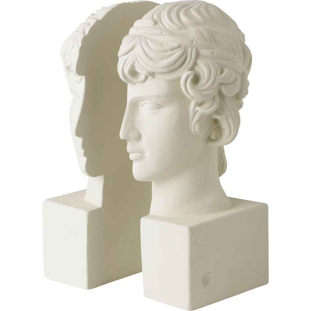 SOPHIA Antinoos Ceramic Bookends  - 1