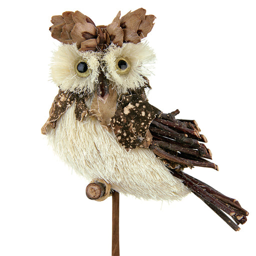 Barn Owl Floral Picks | Seasonal Decor | Trovati Studio