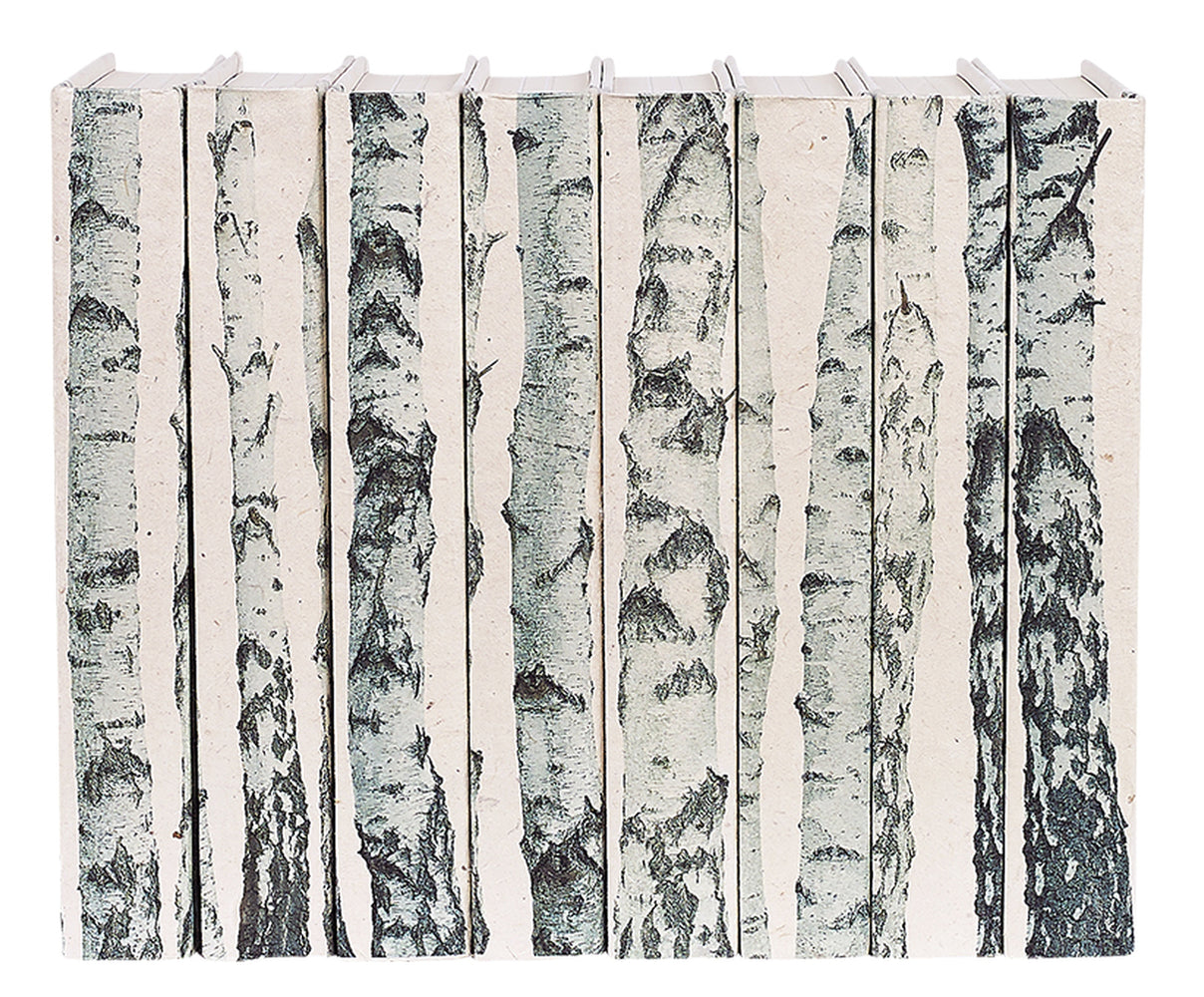 Birch Trees Decorative Books | E.Lawrence Ltd | Trovati Studio