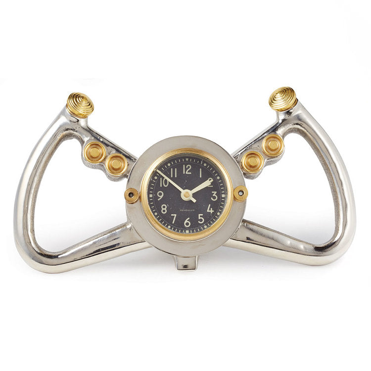 Pendulux Cockpit Table Clock Aluminum - Trovati